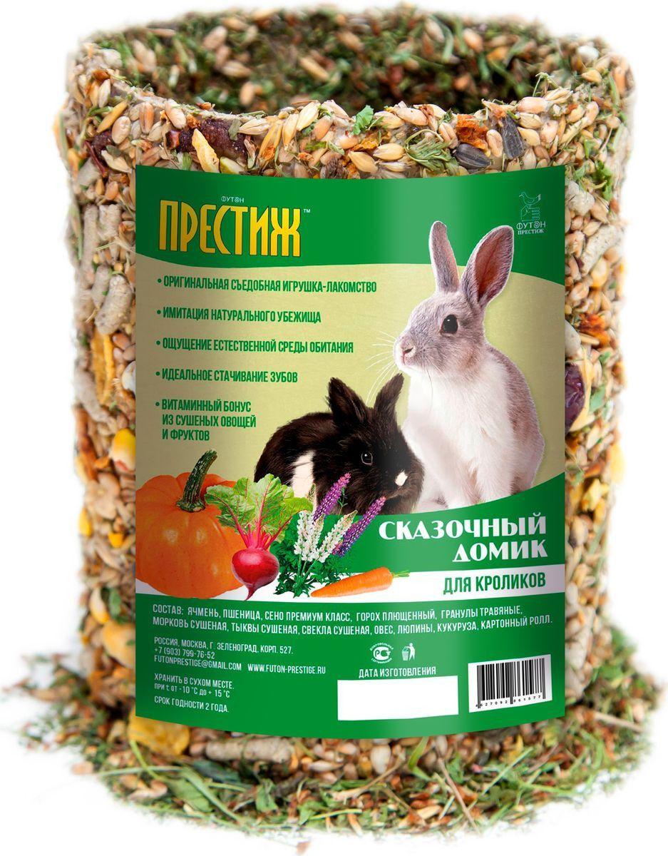 Лакомство для кроликов Престиж Сказочный Домик, 450г