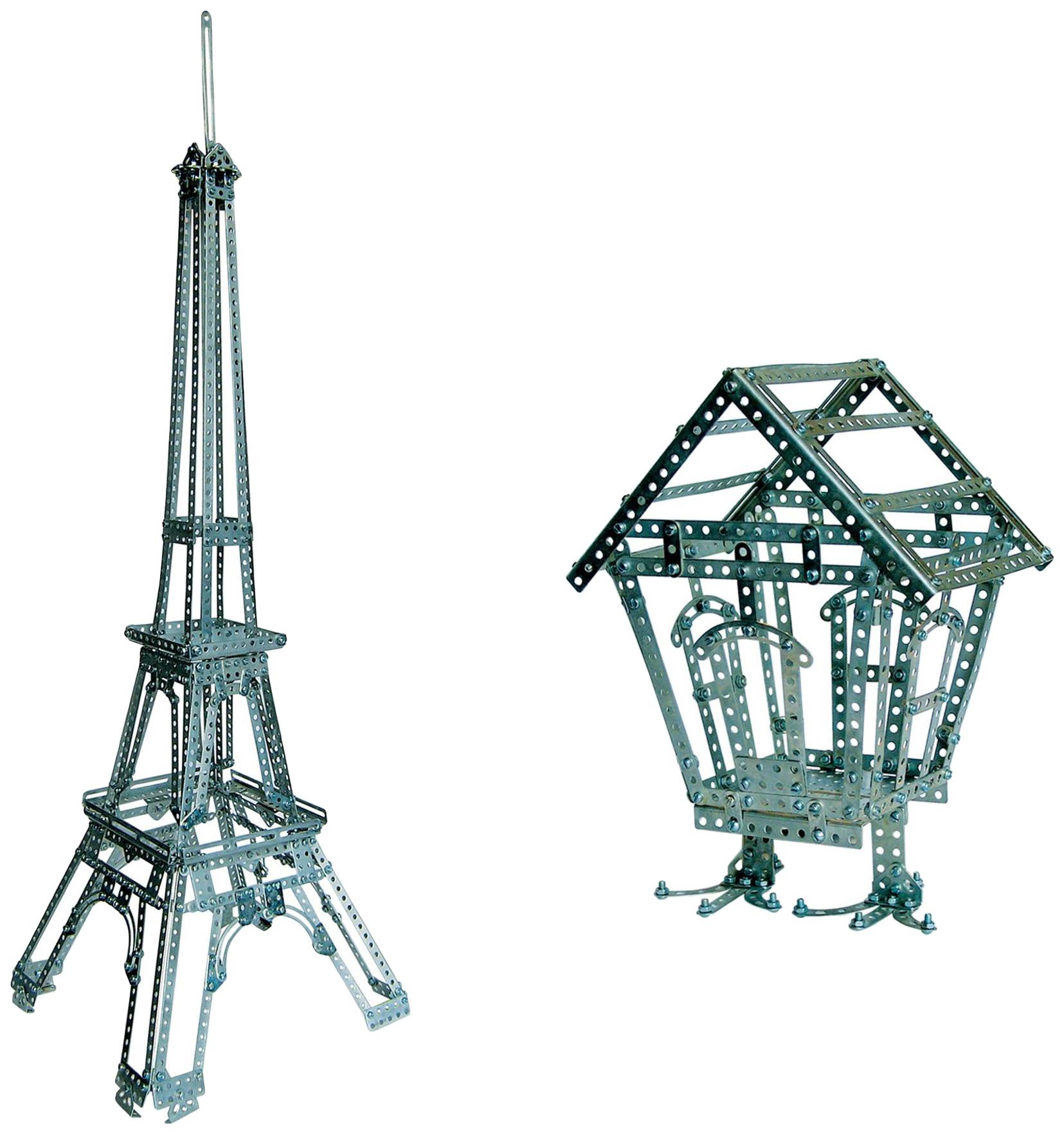 Купить Конструктор металлический эйфелева башня 977 эл Десятое королевство Р27118, Десятое Королевство, Металлические конструкторы