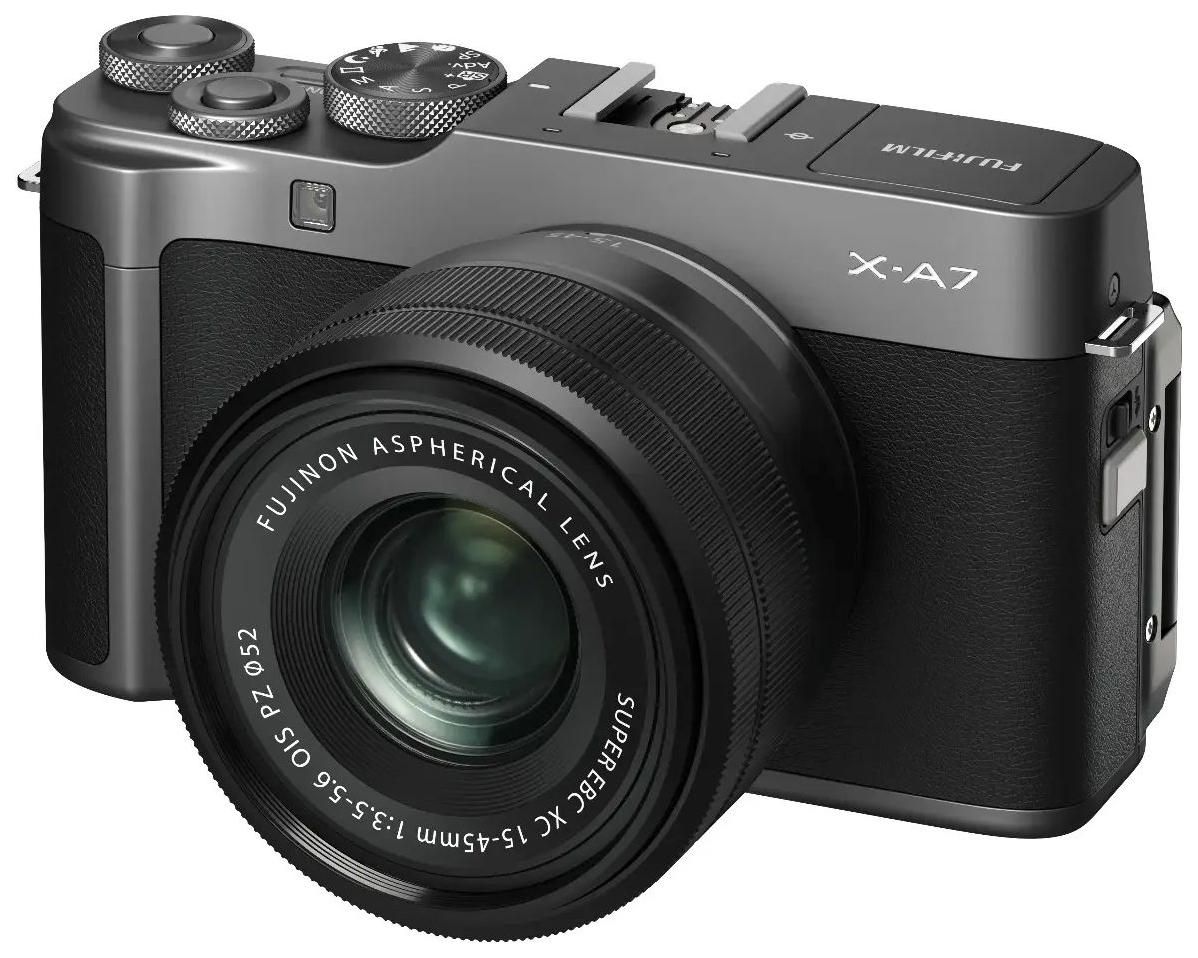 ЦФ Fujifilm FX-A7DS/1545KIT-RU I X-A7 15-45 Dark Silver