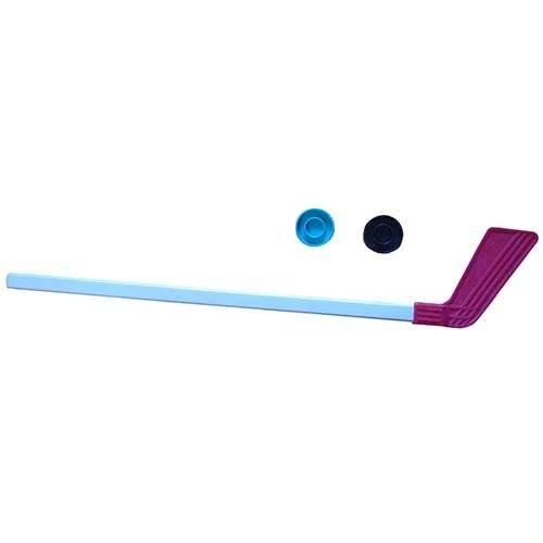 Клюшка детская хоккейная 80 см +2 шайбы