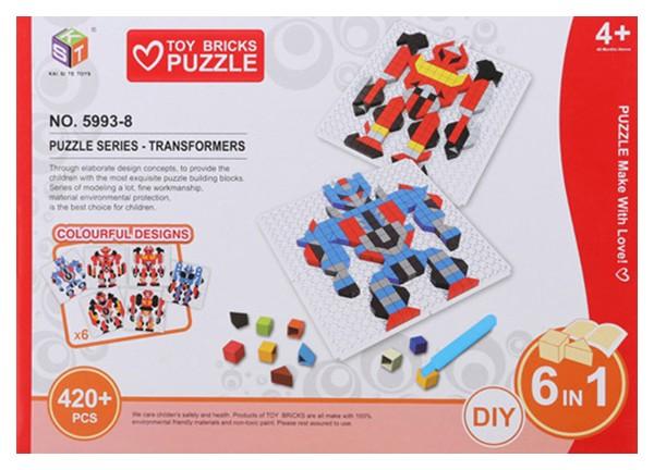 Купить 3D пазл KST Трансформеры 420 деталей, 3D пазлы