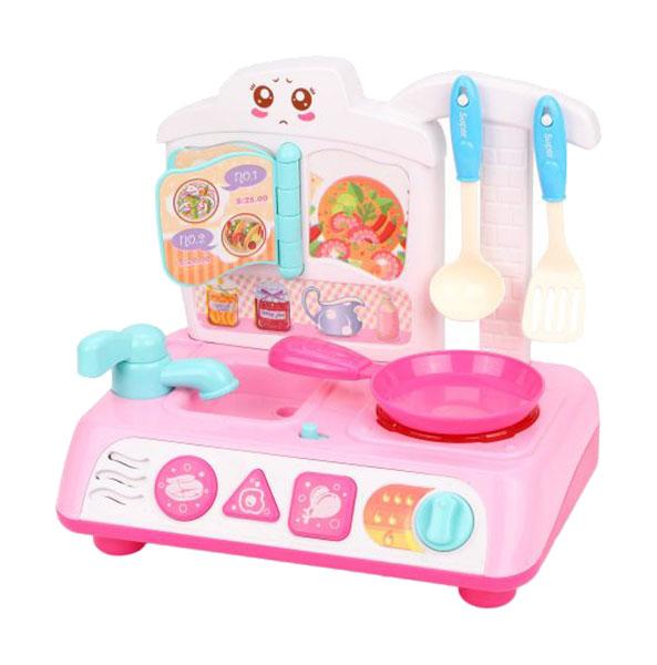 Игровой набор Наша игрушка Плита 4 предмета
