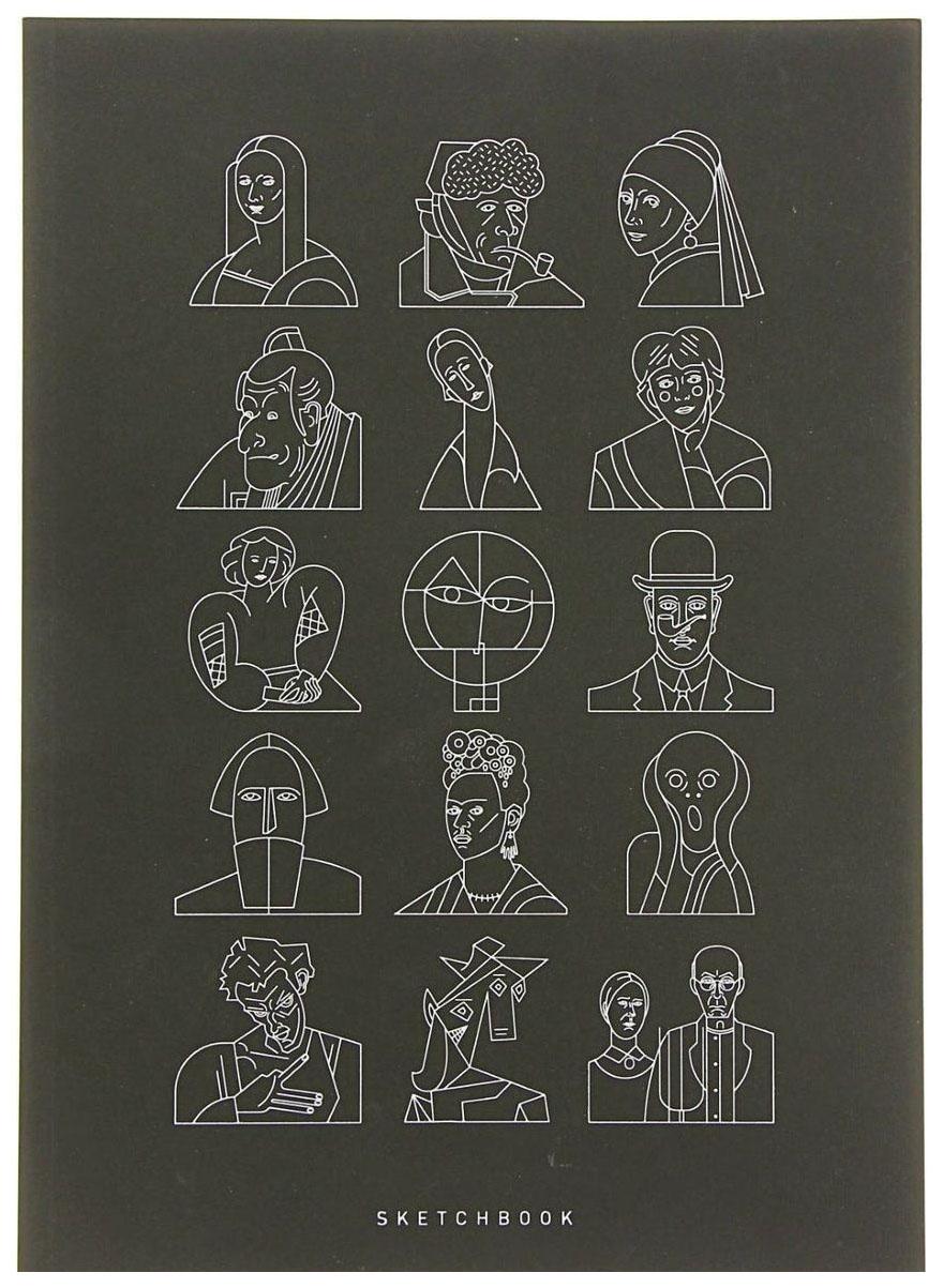 Скетчбук Подписные издания Портреты 48 листов фото