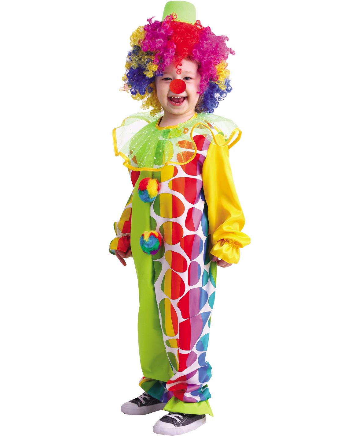 Купить 2014, Карнавальный костюм Батик Клоун, цв. разноцветный р.134,