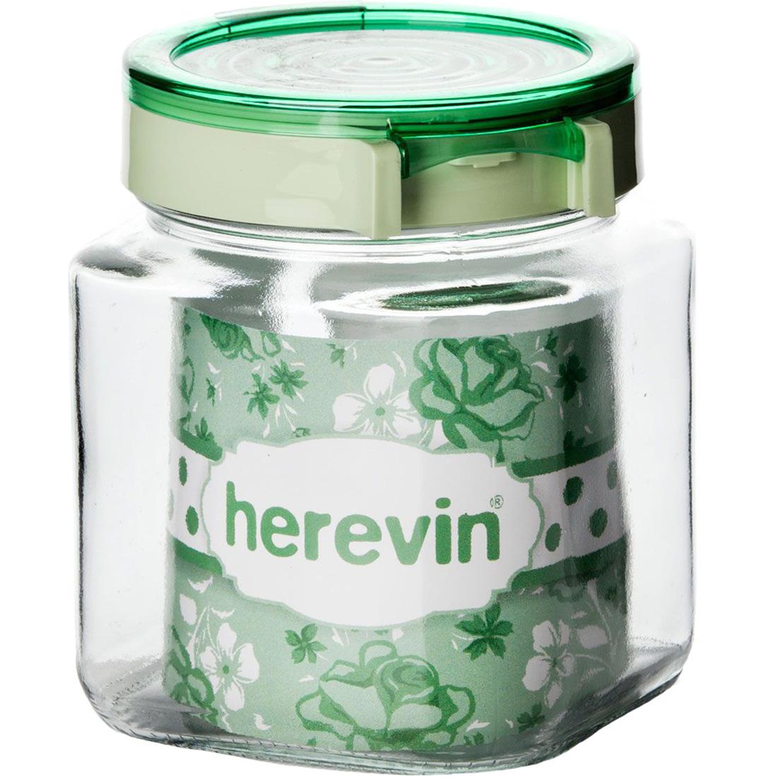 Банка с крышкой Herevin 1000 мл 143010-500