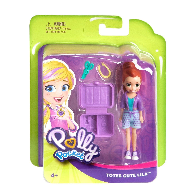 """Polly Pocket® Кукла """"Милая Лайла с сумкой"""""""