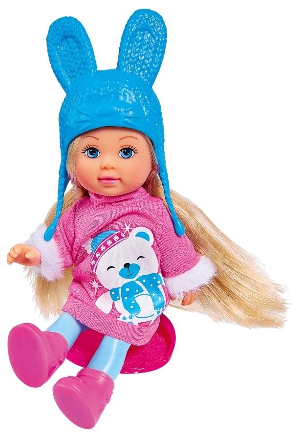 Кукла Simba Еви в зимнем платье 12 см