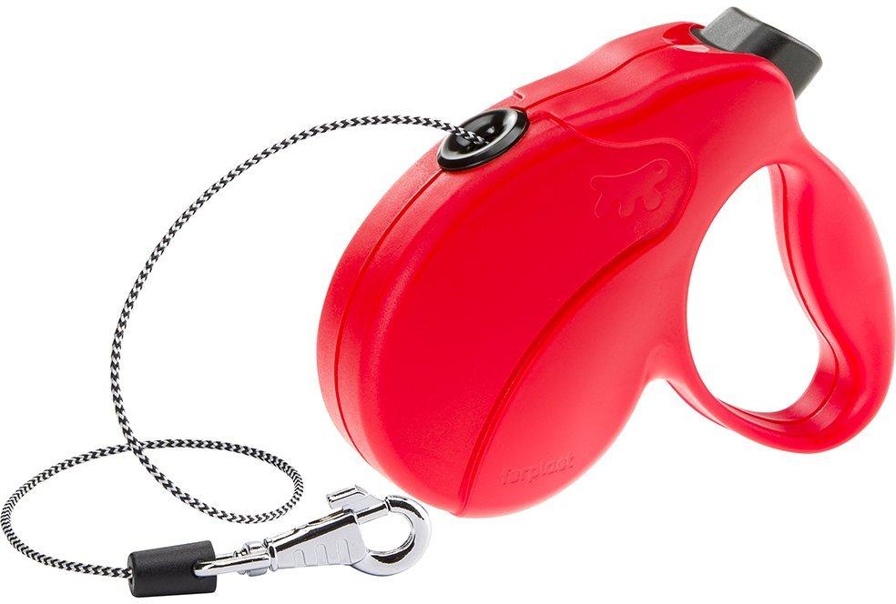 Рулетка Ferplast Amigo Cord для собак (M: 5 м (до 25 кг), Красный)