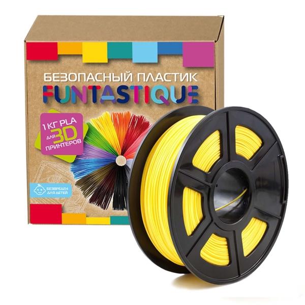Пластик для 3D-принтера Funtastique PLA-1KG-YL PLA Yellow