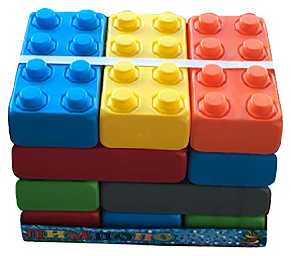 Купить Конструктор блочный, малый, 15 элементов 37306, Shantou Gepai, Конструкторы пластмассовые
