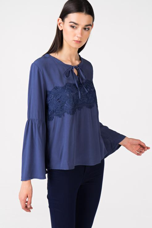 Блуза женская Broadway 10158736 синяя XL фото
