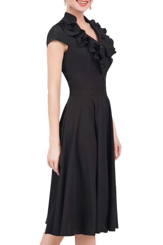 Платье женское MARICHUELL MPL00060L(FERNANDA) черное 52 RU фото