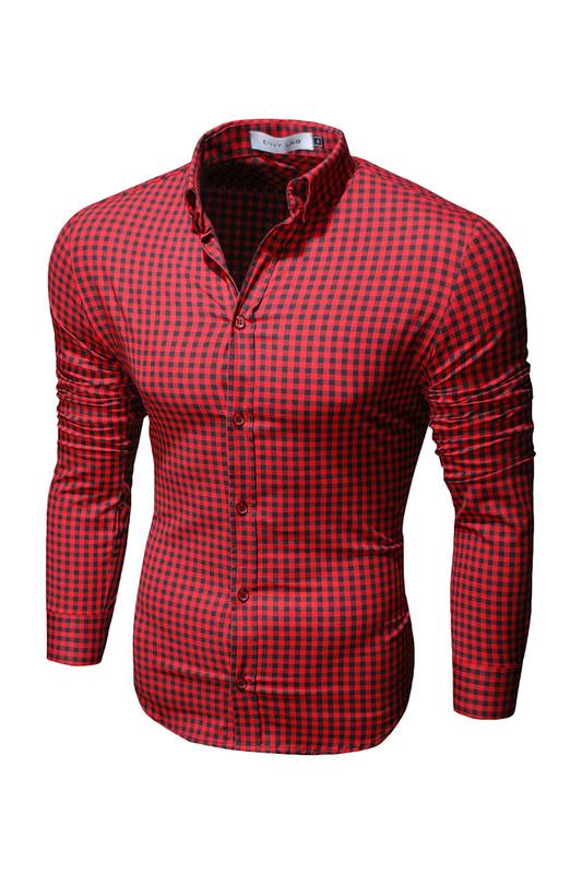 Рубашка мужская Envy Lab R45 красная XL