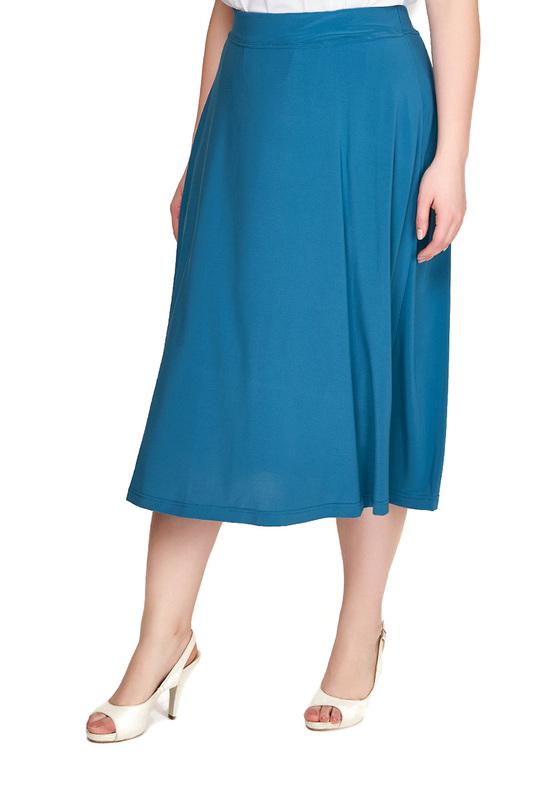 Юбка женская OLSI 1814013_2 голубая 50 RU