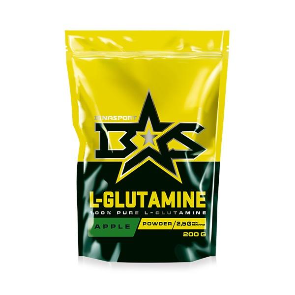 Binasport L Glutamine 200 г натуральный вкус