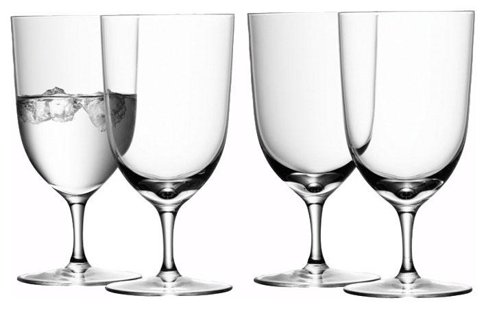 Набор бокалов LSA wine для воды 400 мл 4шт