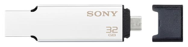 USB-флешка Sony USM32BA2/S 32GB Silver/Black