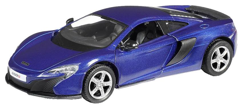 Купить Машина металлическая RMZ City 1:32 McLaren 650S, инерционная, цвет синий 554992-BLU, Коллекционные модели