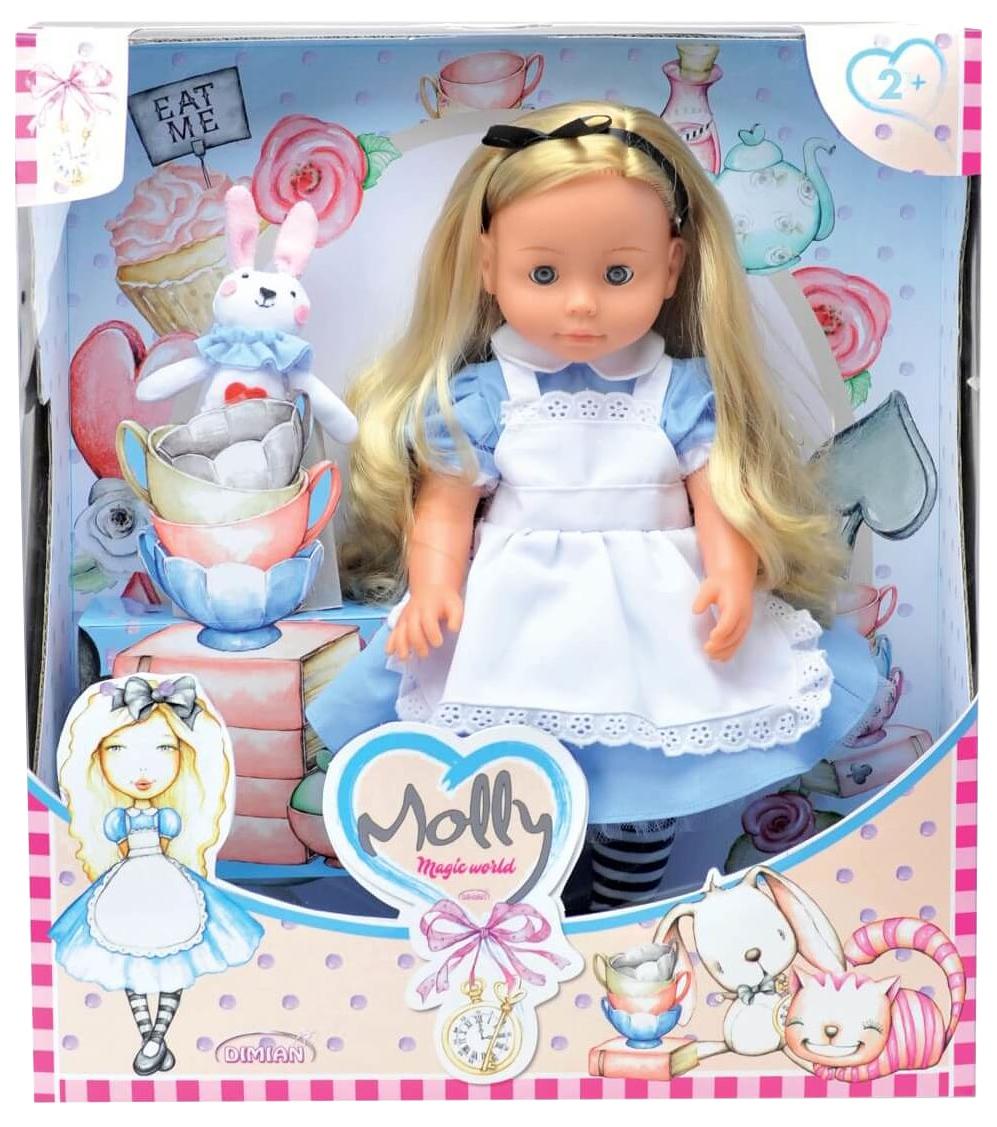 Купить Кукла Dimian Bambina Bebe 40 см Molly Magic World звуковые эффекты, Классические куклы
