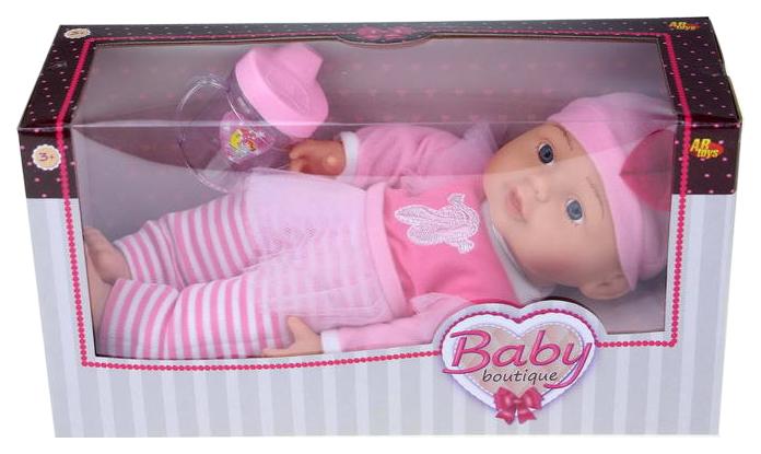 Кукла ABtoys Baby boutique 33 см с аксессуарами PT-00956
