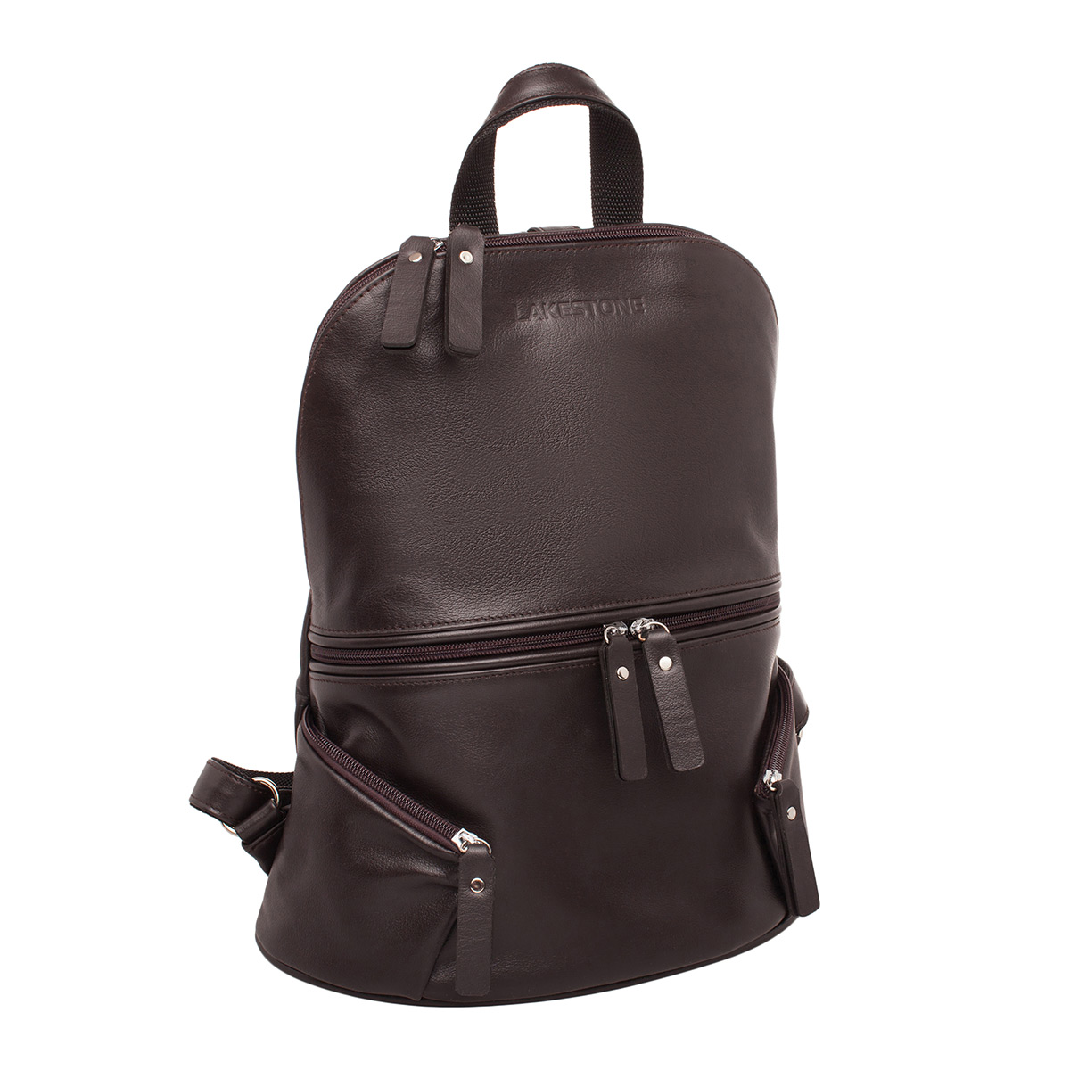 Рюкзак женский кожаный Lakestone 91235/BR