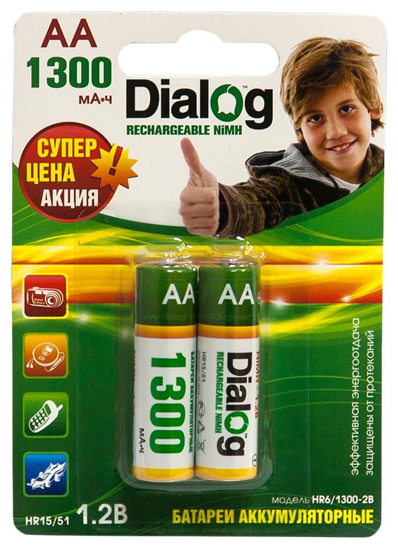 Аккумуляторная батарея Dialog HR6/1300 2B 2 шт