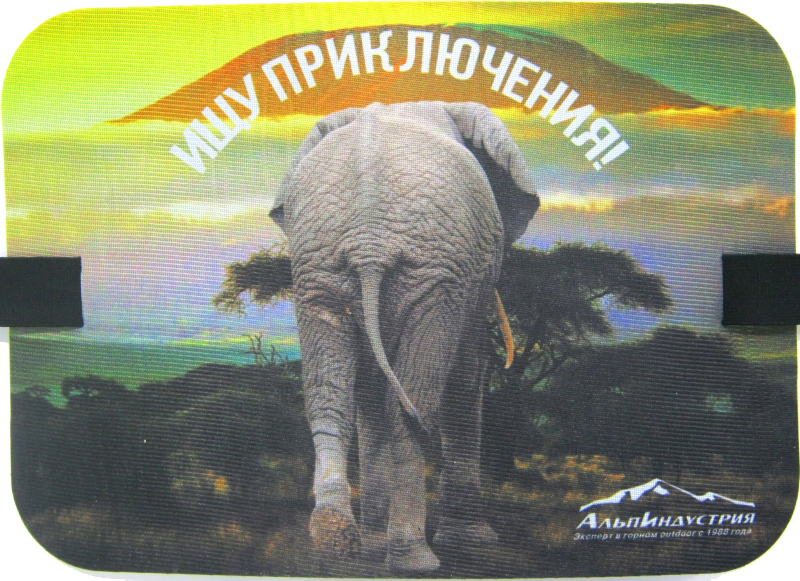 Туристическая сидушка Buttons Слон