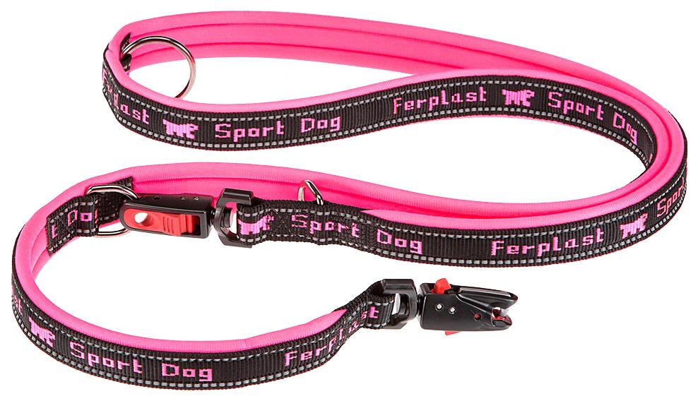 Поводок для собак Ferplas Sport Dog Matic 20 мм х 200 см Розовый 78004436
