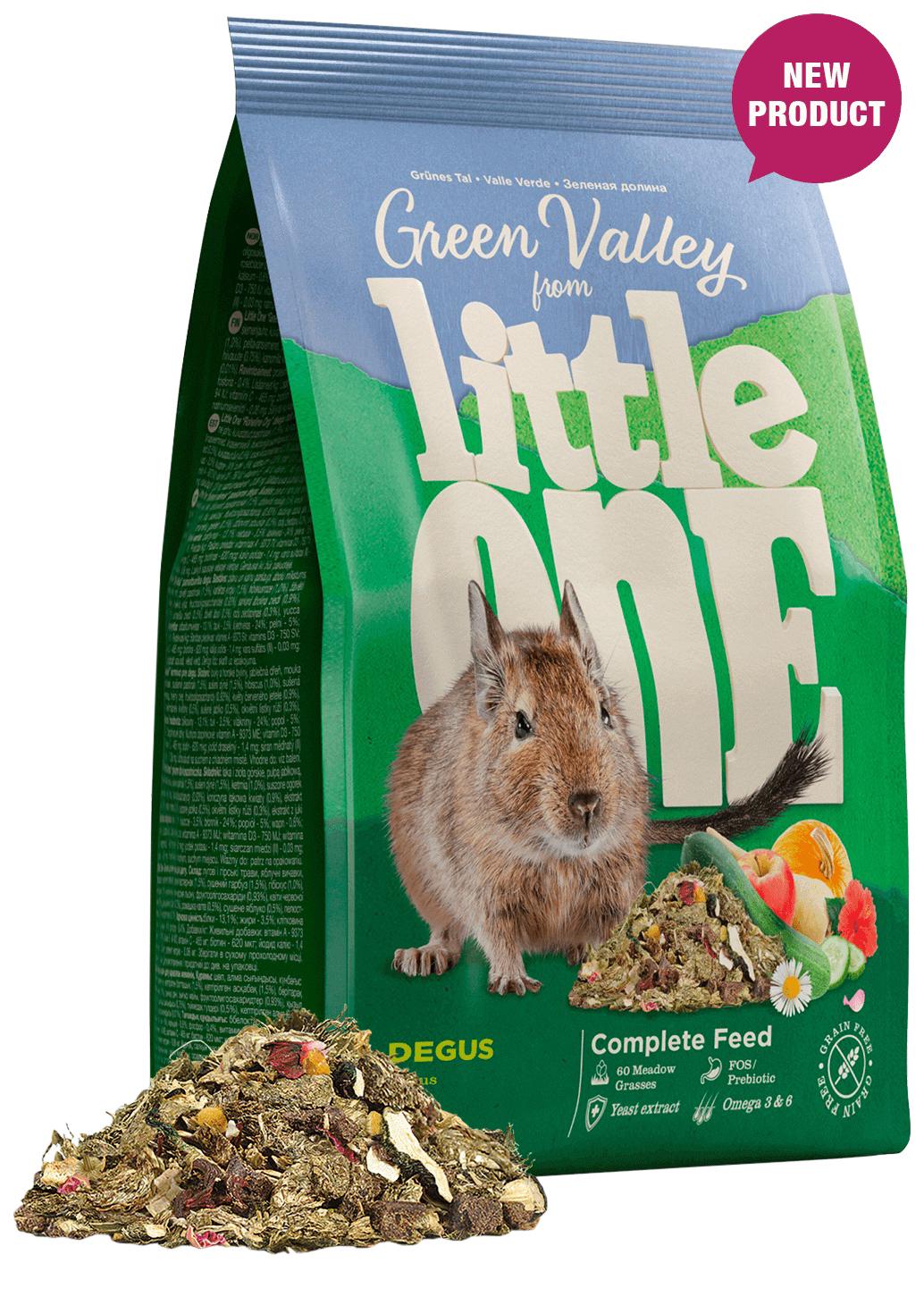 Корм для дегу Little One Green Valley