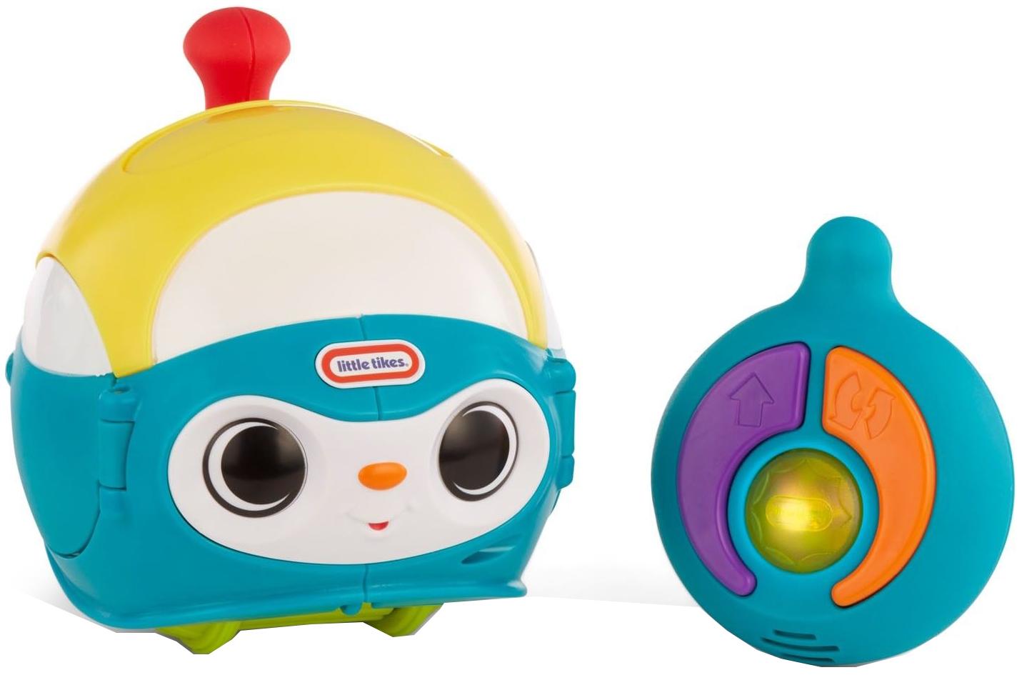 Интерактивная игрушка Little Tikes Вращающийся робот голубой