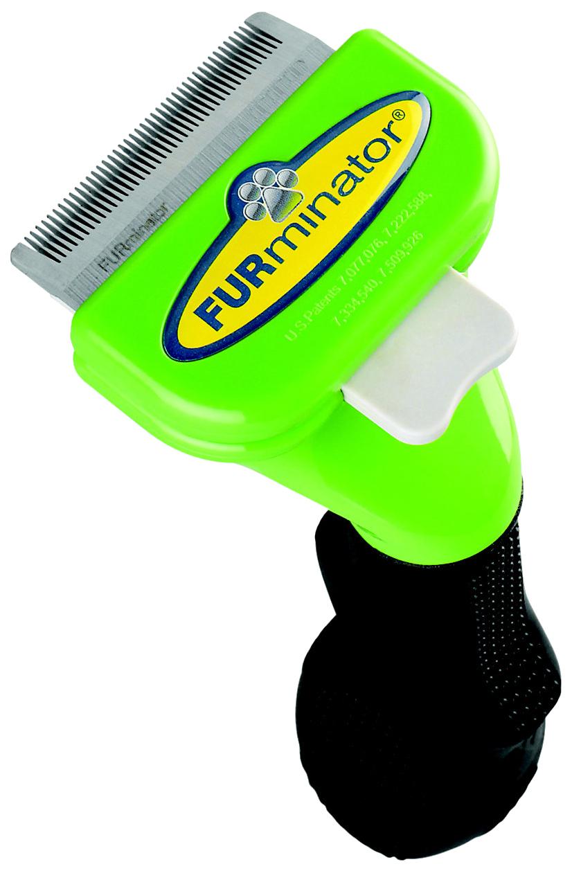 Фурминатор для собак FURminator®, длина шерсти длинная, зеленый,