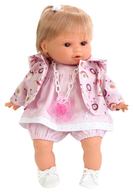 Купить Кукла Antonio Juan Леонора в розовом, плач., 33 см 1332P, Классические куклы