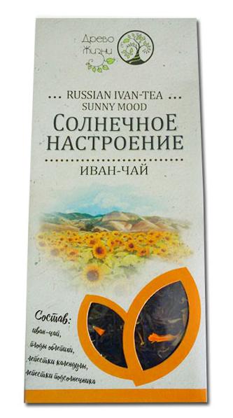 Иван-чай Древо Жизни солнечное настроение облепиха-календула-подсолнечник 50 г
