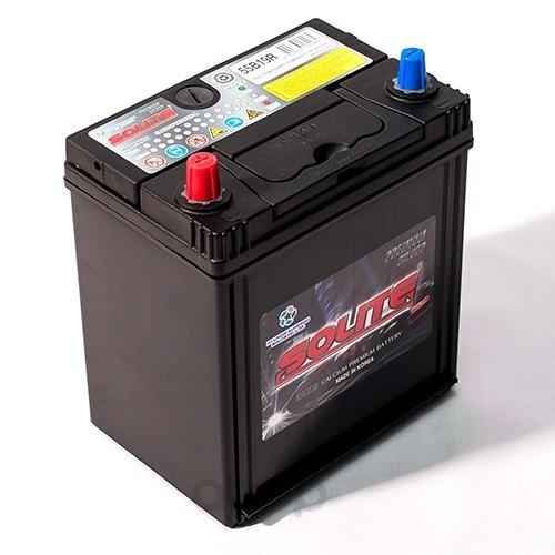Аккумулятор автомобильный Solite Silver 55B19R 50А/ч 410А полярность прямая фото