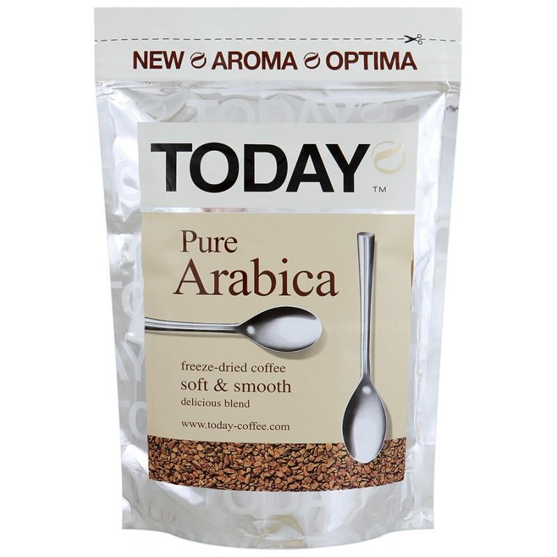 Кофе Today пур арабика растворимый сублимированный 75 г фото