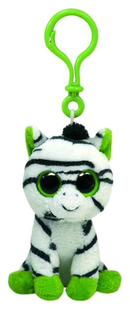 Купить Брелок TY Beanie Boo's Зебра Zig-zag, 12, 7 см, Аксессуары для ранцев и рюкзаков