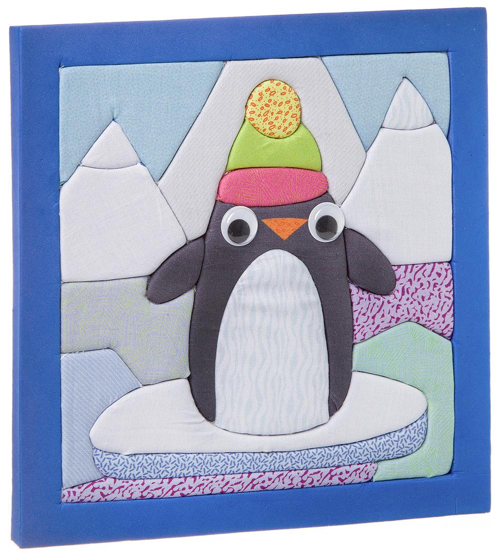 Купить Набор для творчества Bondibon печворк без иглы пингвин ВВ2675,