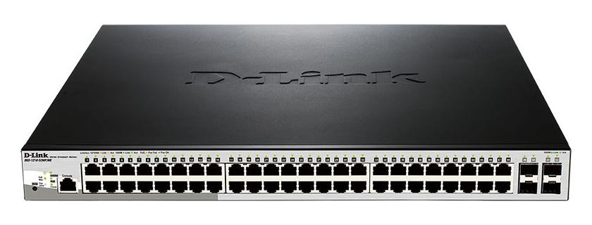 Коммутатор D Link DGS 1210 52MP/ME/B1A Black