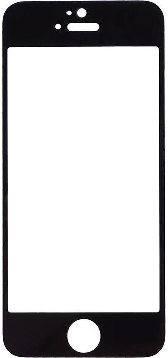 Защитное стекло GOSSO CASES для Apple iPhone 5/iPhone 5C/iPhone 5S/iPhone SE Black