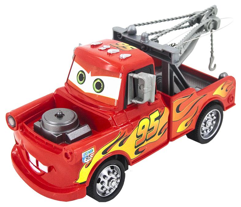 Радиоуправляемая машина-тачки Happy Cow Грузовик Мэтр Красный