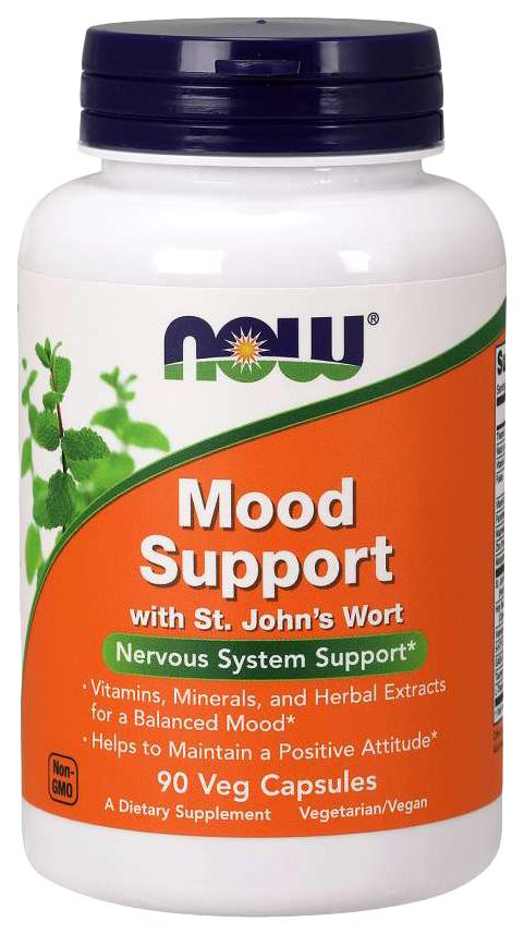 Купить Для нервной системы NOW Mood Support 90 капсул