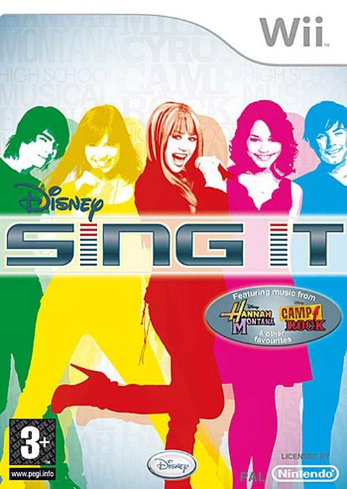 Игра Sing It для Nintendo Wii