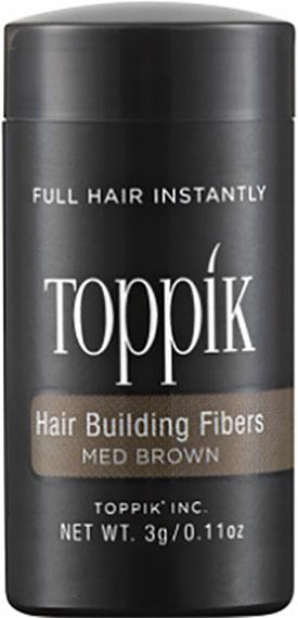 Пудра-загуститель для волос Toppik Hair Building Fibers Каштановый 3 гр