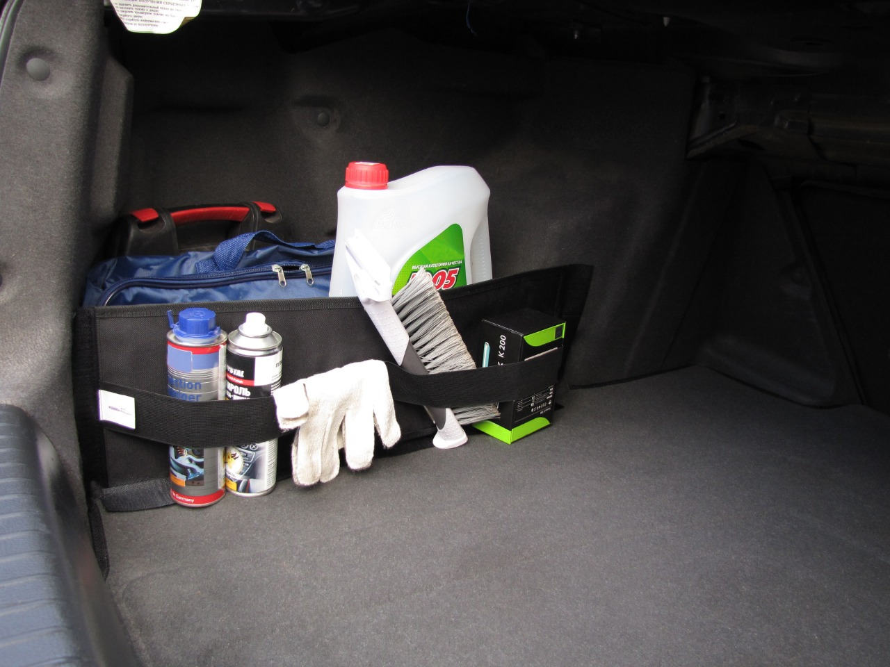 Сетка для ниш в багажник автомобиля AvtoPoryadok