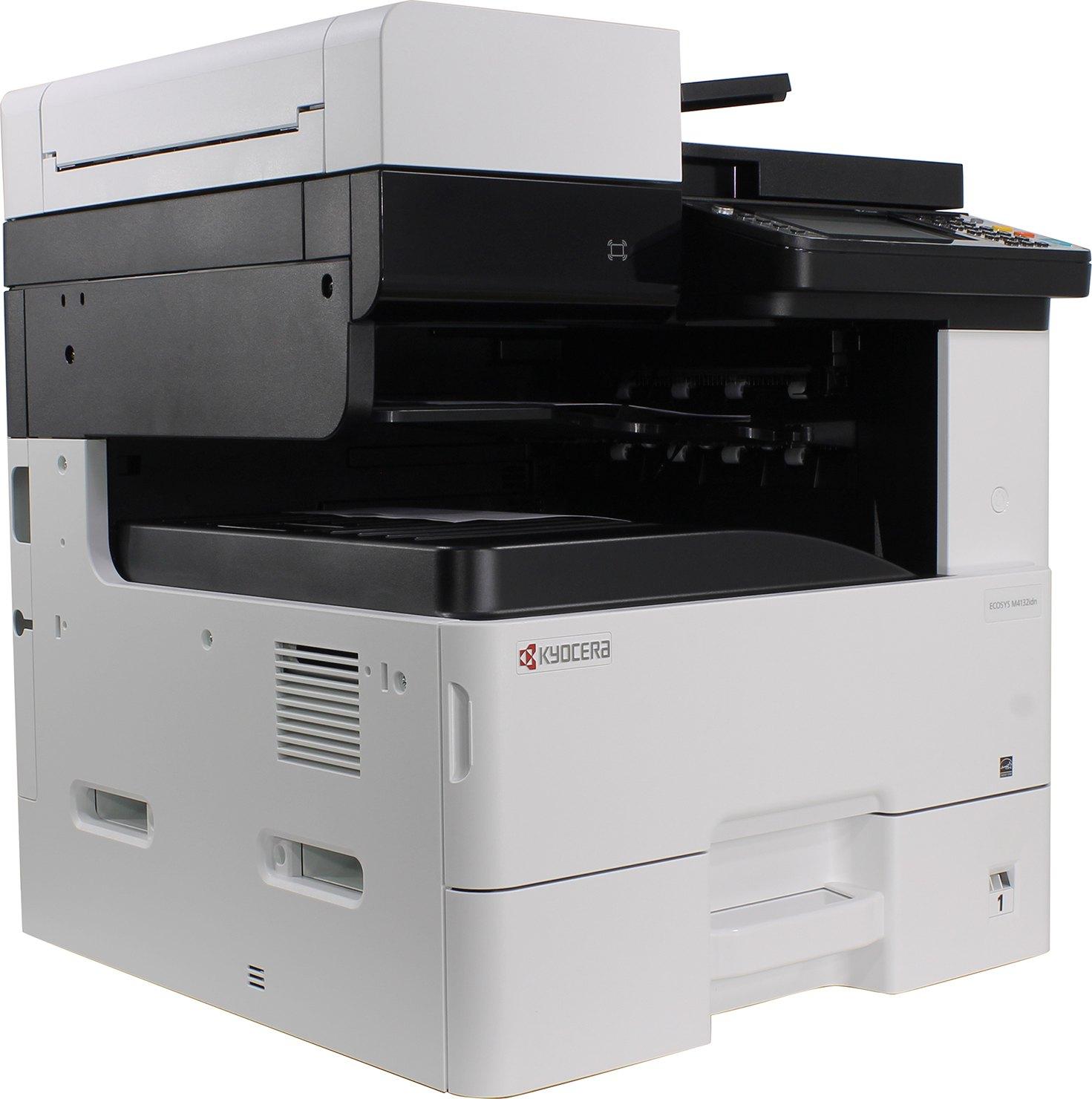 Лазерное МФУ Kyocera M4132idn White, 1102P13NL0  - купить со скидкой