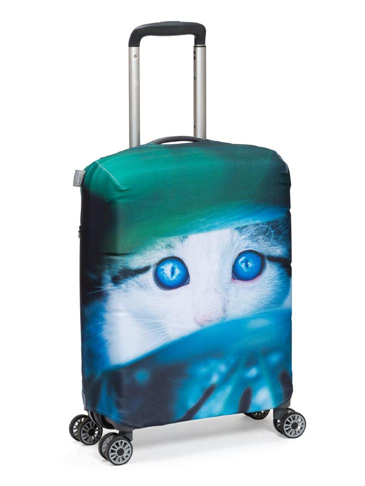Чехол для чемодана Mettle Котик S ручная кладь фото