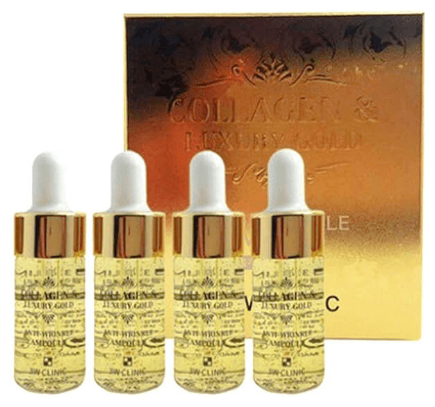 Сыворотка для лица 3W Clinic Collagen #and# Luxury Gold Anti-Wrinkle Ampoule 4x13 мл