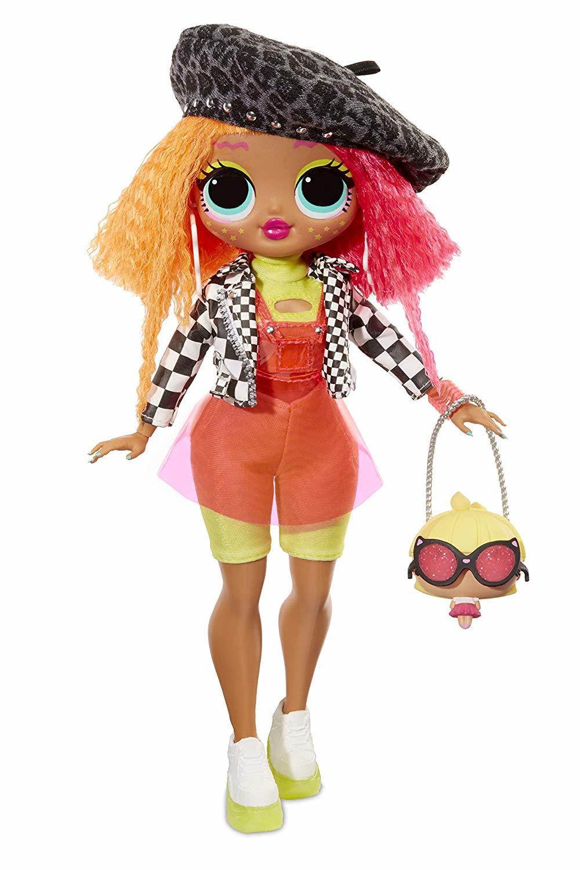 Купить Кукла LOL Surprise ЛОЛ O.M.G. - Neonlicious (30 см) 560579, Куклы LOL