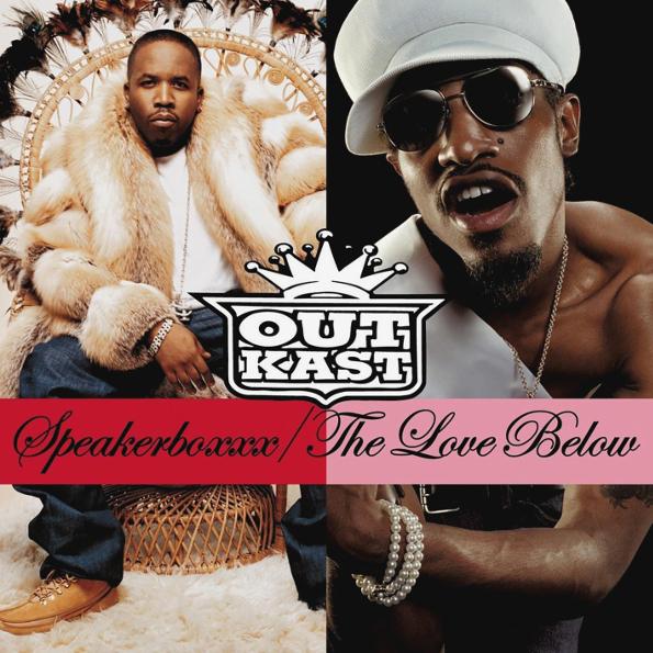 OutKast Speakerboxxx, The Love Below (4LP)