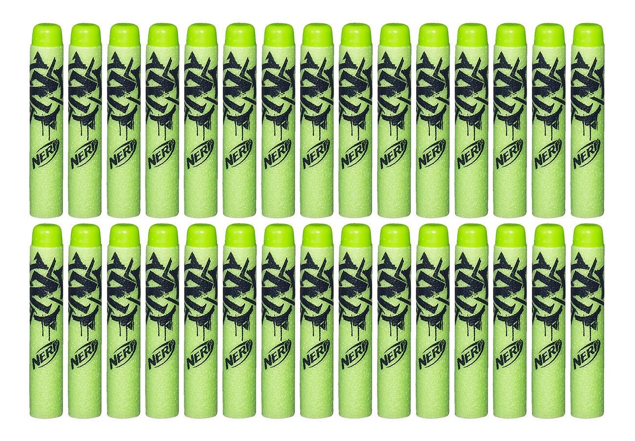 Набор пуль для Бластера Nerf зомби страйк 30 деко-стрел a4570 фото